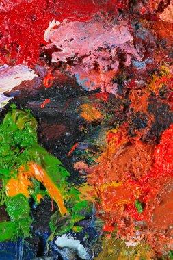 "Картина, постер, плакат, фотообои ""палитра цветов художника постеры портрет ретр москва"", артикул 70559995"