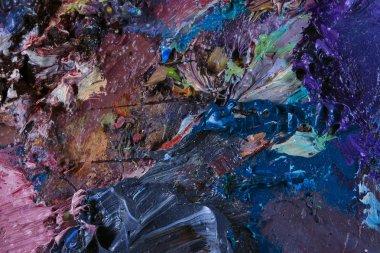 "Картина, постер, плакат, фотообои ""палитра художника абстракция пейзаж морской"", артикул 70563855"