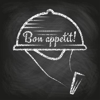 'Bon appetit' concept