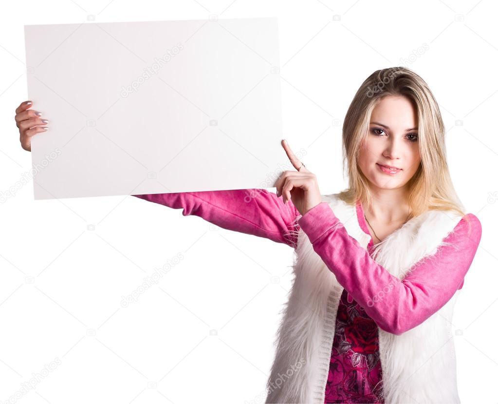 фото как девушка держит слова дин зрачки расширись