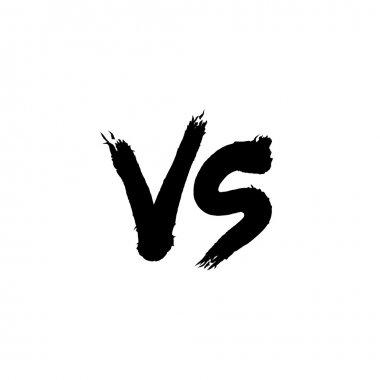 Symbol competition VS vector illustration. stock vector