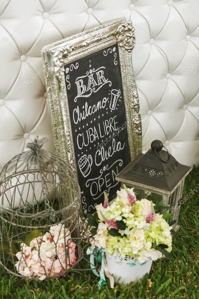 Dekoration Fur Diy Hochzeit Stockfoto C Jirivondrous 73453783