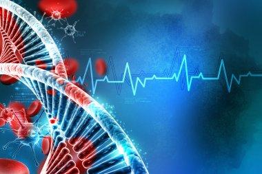 futuristic medicine background