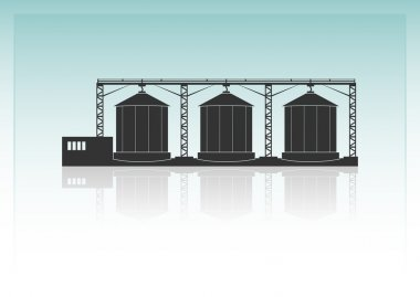 Granaries. Storehouse for threshed grain or animal feed