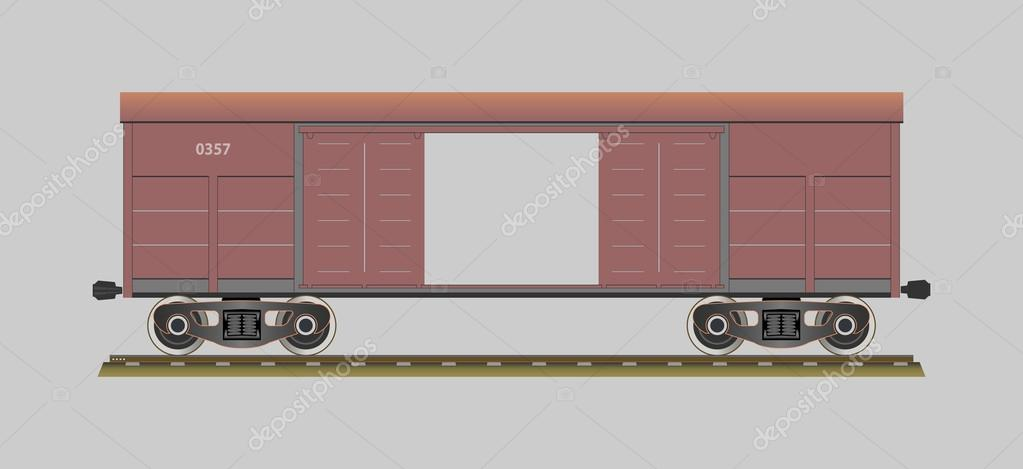 Boxcar Train Cliparts - Cliparts Zone