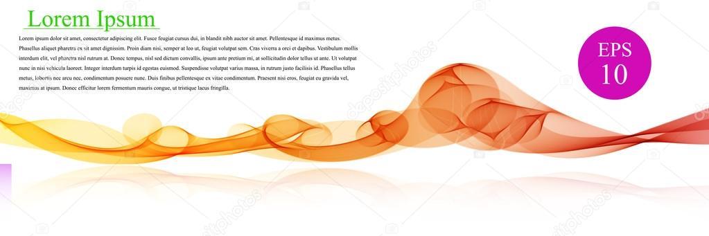 Color de onda del espectro. Resumen fondo vector ondulado, coloreada ...