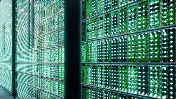 Data Server Center Lichter geführt omni Business Network Technology Konzept Verbindung web Digital Computer Code Serverraum
