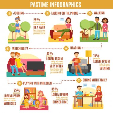 Pastime Infographics Diagram