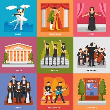 Theatre Compositions 3x3 Design Concept