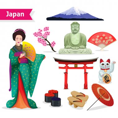 Japan Touristic Set