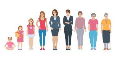All Age Generation Women Set