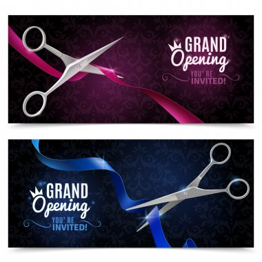 Grand Opening Banners Set