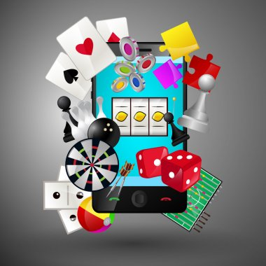 Mobile games concept