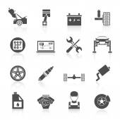 Fotografie ikony služeb auto