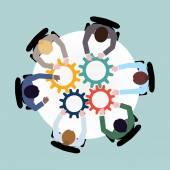 obchodní spolupráce koncepce
