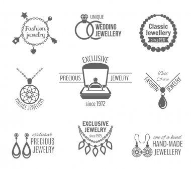 Jewelry label set