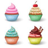 Photo Sweet cupcake set