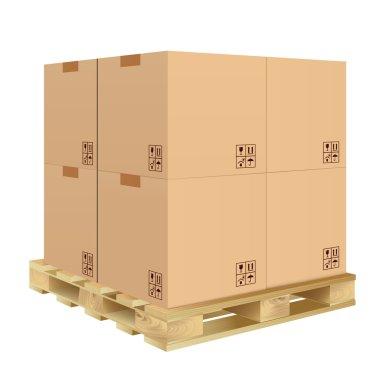 Carton box isolated
