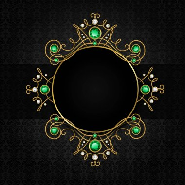Jewellery black frame