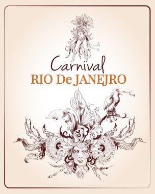 Rio carnival poster