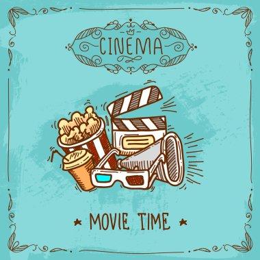 Cinema poster sketch