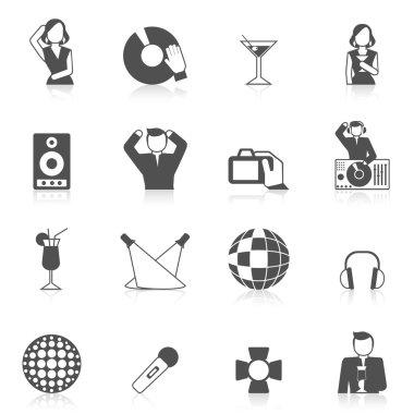 Nightclub Icon Set