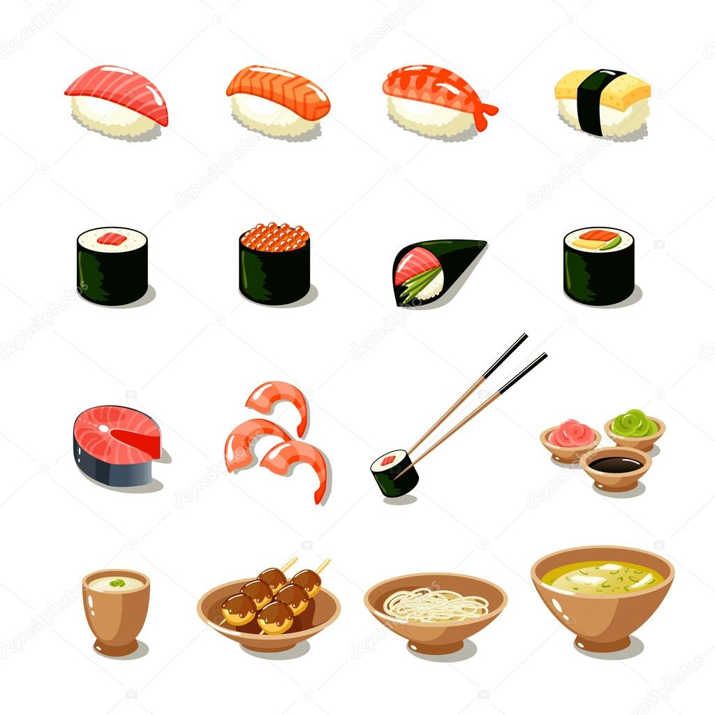 Macrovector 60301681 for Asian cuisine ppt