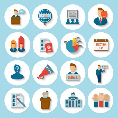 Election Icon Flat
