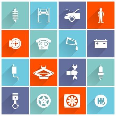 Auto Service Flat Icon