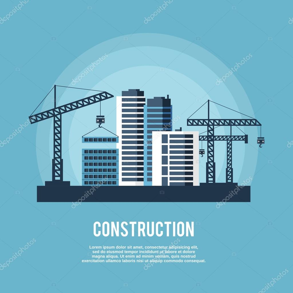 Construction Industry Poster