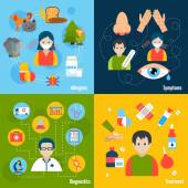 Allergies Icons Set