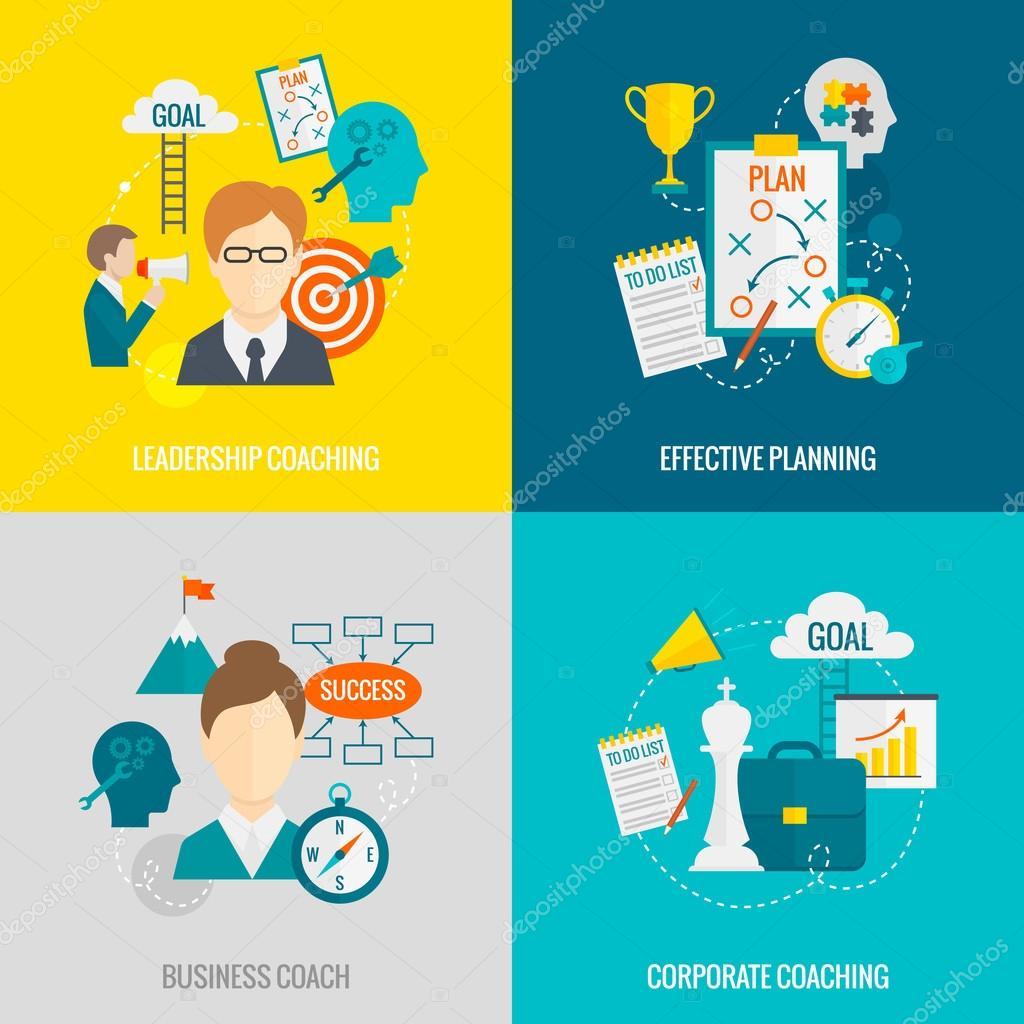 Coaching Business Flat