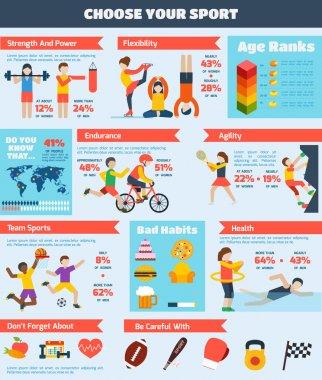 Sports Infographics Set