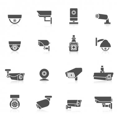 Security Camera Icons