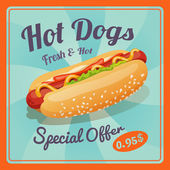 hot dog plakát