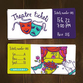 Photo Theater Ticket Set