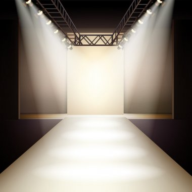 Fashion Runway Background