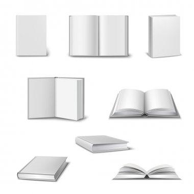 Realistic Book Set