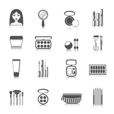 Makeup Icons Black