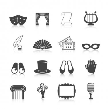 Theatre Icon Set