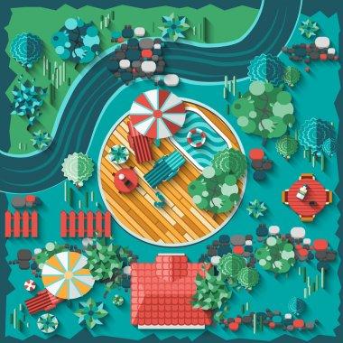 Landscape Design Composition