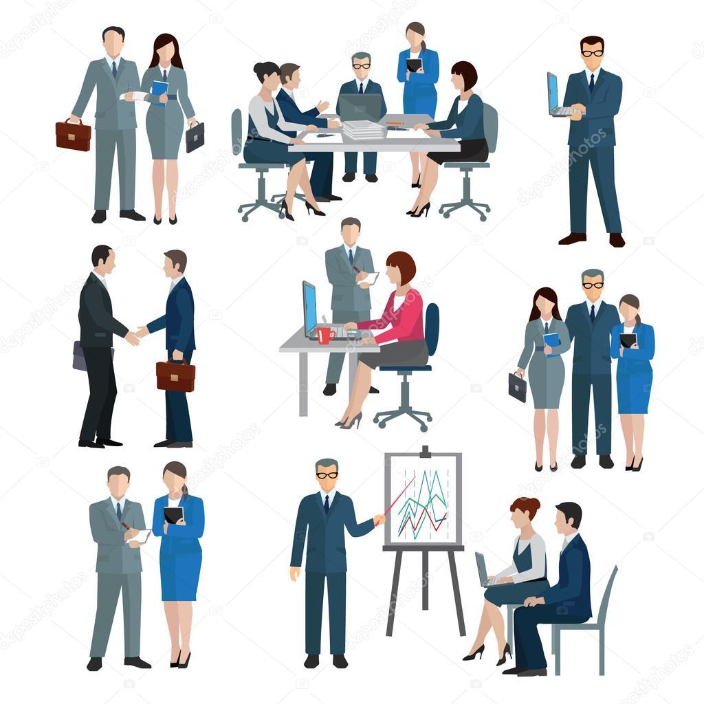 Office Worker Set