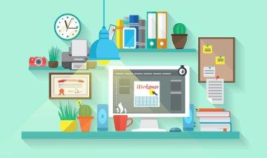 Workspace In Room