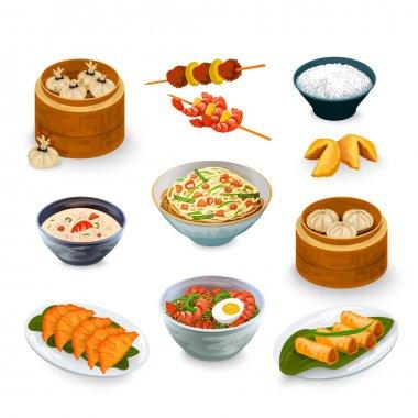 Asian Food Set