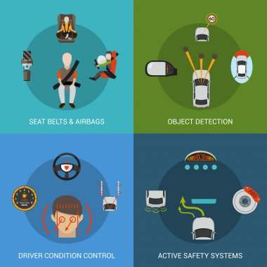 Car Safety System Set
