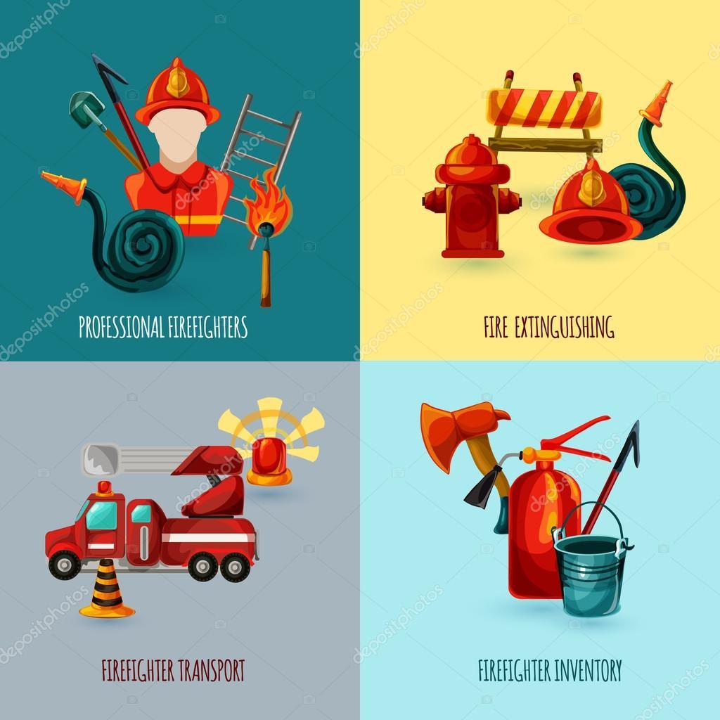 Firefighter Design Set