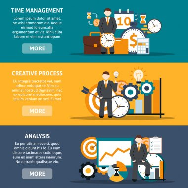 Time Management Banners