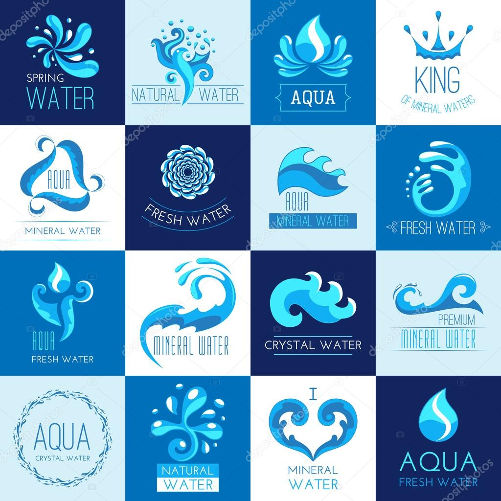 Water Emblems Set