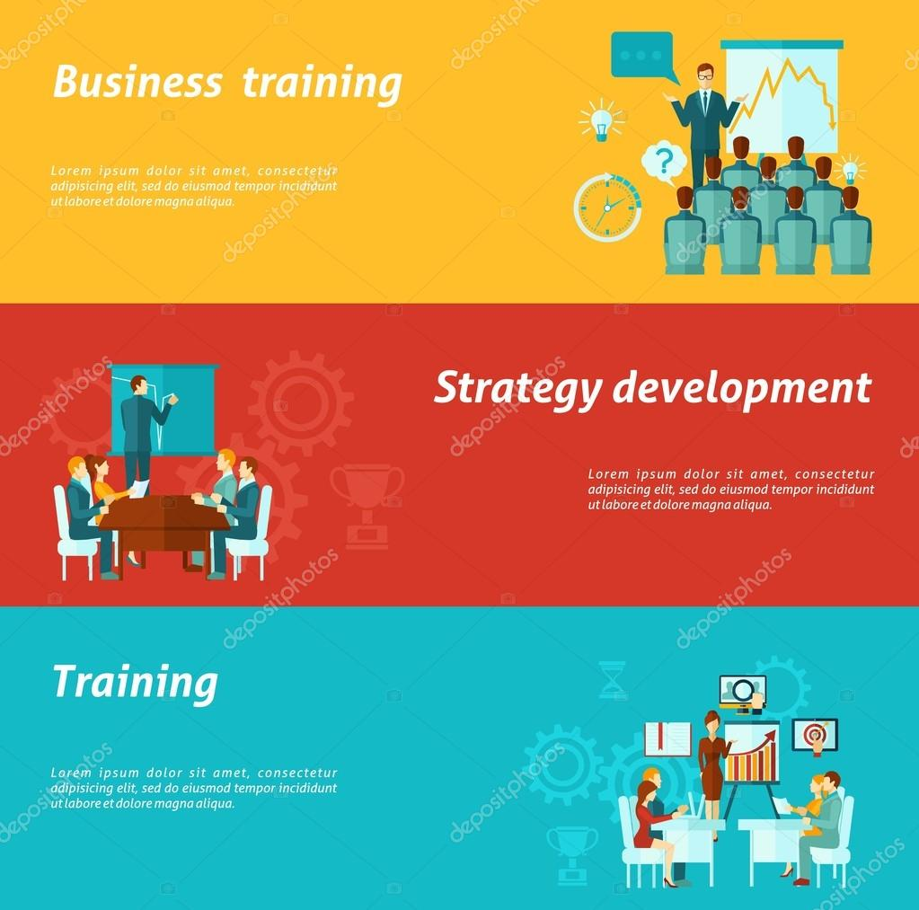 Business Training Banners
