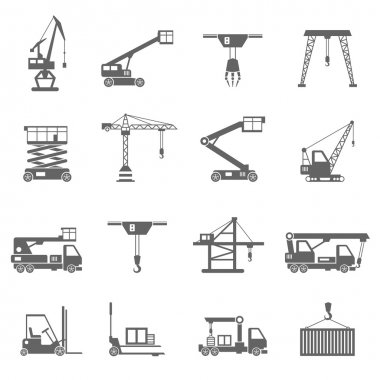 Lifting Equipment Icons